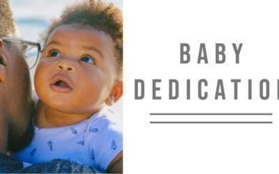 Baby Dedication | December 19, 2021